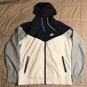 Nike Windrunner Full Zip Hooded Jacket, Size Large